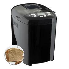 Sensio Home Bread Maker Black Digital, 15 Automatic Programs, 550 W, Accessories