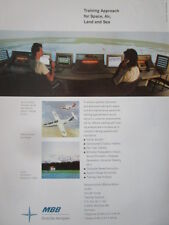 4/1992 PUB MBB DEUTSCHE AEROSPACE TRAINING ROCKWELL FAN RANGER APRON MUNICH AD