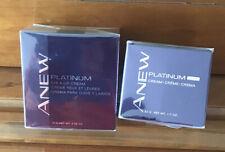 Avon Anew Platinum Night Cream 1.7oz & Anew Platinum Eye & Lip Cream .50oz New