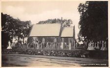 Cheshire - WILLASTON, Christ Church -  Real Photo.