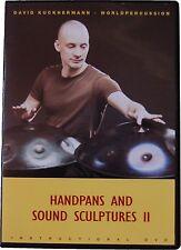 Handpans and Sound 2 Sculptures Lern Dvd  Handpan David Kuckhermann
