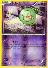 pokemon B&W 10 PLASMA BLAST reverse holo karte 42/101 SOLOSIS 30 HP