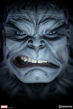 SIDESHOW Marvel Grey Hulk Life-Size Bust Exclusive 1:1 Scale NEW SEALED