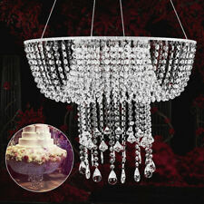 Wedding Birthday Party Supplies Clear Cake Stand Hanging-style Venue Decorations