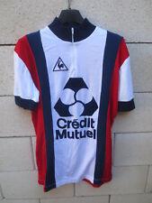 Maillot cycliste LE COQ SPORTIF Crédit Mutuel vintage 80's trikot shirt jersey 4