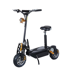 Pit Bike Electric Scooter 1000W 36V 10 Inch Big Tyres Light off Road.