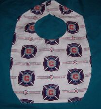 NEW CHILD BABY BIB CHICAGO FIRE SOCCER CLUB Men In Red MLS US TEAM SHIP DISCOUNT