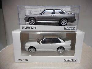 BMW E30 M3 1986 WHITE/ SILVER (A ESCOGER/CHOOSE/CHOISIR) 1:43 NOREV