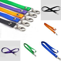 Neck Strap Key Phone ID Badge Lanyard Holders Metal Lobster Clasps Clip Showy