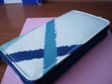 Boots No 7 Blue / Turquoise / White Make-Up Case