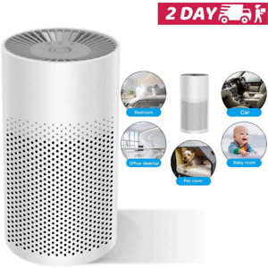 Room Air Purifier HEPA Filter Home Smoke Cleaner Eater Indoor Dust Remover Small