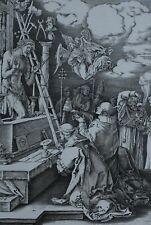1846 ORIGINAL ENGRAVED PRINTS ALBRECHT DURER SCARCE BIOGRAPHY - LARGE FORMAT