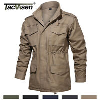 Military 65 Field Jacket Men's Army Coat Tactical Windbreaker Hunting Clothes