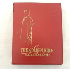 The Golden Rule - Lutterloh - 1970 - A Teach-Yourself Manual - Sewing Patterns
