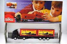 SIKU 3424 IVECO LKW Truck & CONTAINER Trailer in AIR-CARGO Livery Mint in Box