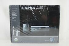 AKG Perception Wireless Lavalier Microphone Lav Mic Presenter Set (Band U2)