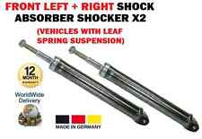 FOR SMART CITY COUPE 1998-2004 > FRONT LEFT + RIGHT SHOCK ABSORBER SHOCKER X2