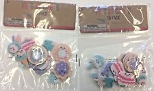 30 (15/pack) dessert felt fun food ice cream pops cookies craft donut cards