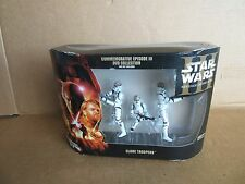 Star Wars ROTS COMMEMORATIVE DVD COLLECTION Clone Troopers 3 pack NEW