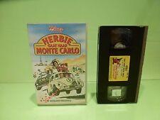VINTAGE VHS VIDEO VW VOLKSWAGEN BEETLE - HERBIE GAAT NAAR MONTE CARLO - DISNEY