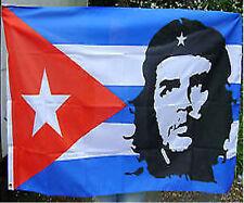 NEW 5 x 3 FOOT (150x90cm) CHE GUEVARA CUBA CUBAN FLAG