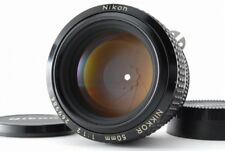 【Almost MINT】 Nikon NIKKOR Ai-S 50mm f/1.2 for F Mount Lens From JAPAN 198