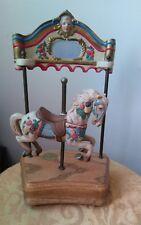 Vtg. Tobin Fraley Musical Carousel