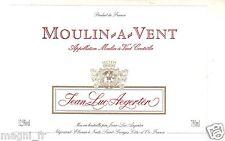 Etiquette de vin - MOULIN A VENT (162)