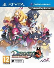 Disgaea 3 Absence Of Detention PS Vita * NEW SEALED PAL *