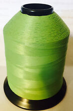 Vintage Gudebrod NCP Rod Building Thread #105 SPRING GREEN 4 oz Size A 4800 Yd