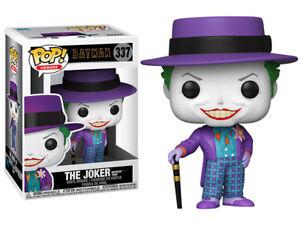 Funko Pop! ~ Batman 1989 The Joker with Hat Pop! Vinyl Figure #337 ~ NEW IN BOX