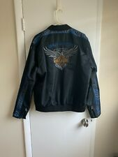 HARLEY DAVIDSON MEN'S LARGE 115 ANNIVERSARY NYLON JACKET