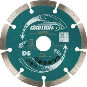 "Makita D-61139 SEG Diamond Cutting Disc 125mm (5"")Blade Concrete Stone Cutter"