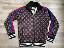 Gucci Sweater  Zip Men's Top Blue Sweatshirt Crewneck ItalyTiger XL