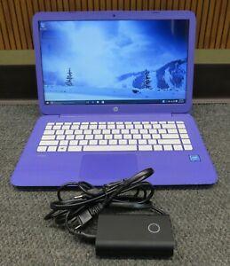 "HP Stream 14-ax020wm 14"" (32GB, Intel Celeron, 1.60GHz, 4GB) Notebook/Laptop"