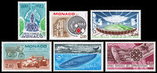 Monaco Scott 1370, 1371, 1372, 1373, 1374, 1375 (1983) Mint NH VF