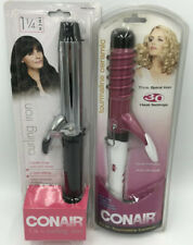 """ConIr Combo Kit - Instant Heat 1.25"""" Curling Iron And 1.25"""" Spiral Iron  - New"""