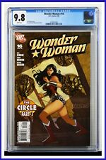 Wonder Woman #16 CGC Graded 9.8 DC March 2008 White Pages Comic Book