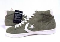 Converse Pro Leather pl Mid Medium Green Olive Egret 157690C