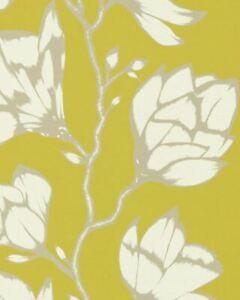 Harlequin Lustica Wallpaper HSAW112142 Saffron Yellow Wallpaper BRANDNEW