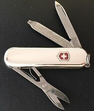 Swiss Army Knife, Sterling Silver Classic, Victorinox 53039, Engraved Free, NIB