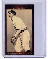 SHOELESS JOE JACKSON, AFTER BLACK SOX SCANDAL IN '25 WAYCROSS GEORGIA LEAGUE