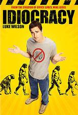 Idiocracy DVD RARE OOP 2006 Luke Wilson Maya Rudollph Dax Shepard +FREE SHIPPING