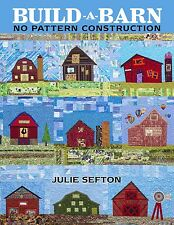 BUILD A BARN: NO PATTERN CONSTRUCTION BOOK, from American Quilters Society *NEW*