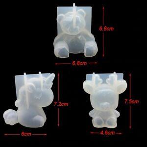 3D Silicone Sugarcraft Mold Fondant Cake Decorating Tools Bear Unicorn and other