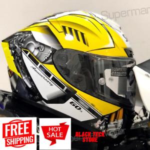 SHOEI Full Face Motorcycle Helmet X14 RJM 60 Riding Motocross Racing Helmets