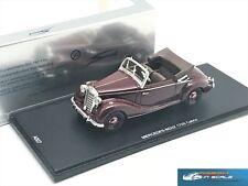 Mercedes Benz 170S Cabrio Spark A007 resin 1:43