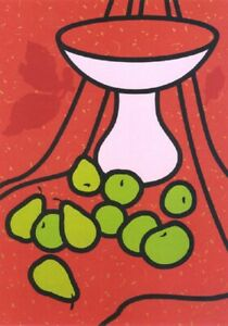 Patrick Caulfield Fruit and Bowl (1979-1980) signed Edition of 100, screenprint