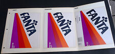 Vintage 1984 FANTA sample label for printing