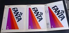 Vintage 1984 FANTA sample label for printing